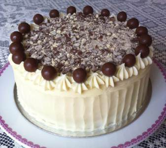 Photo of Chocolate Malt Cake
