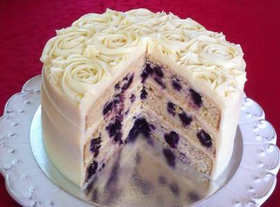 Lemon And Blueberry Cake Nz