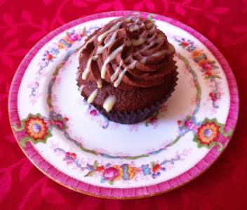 Photo of Chocolate Caramel Cupcake