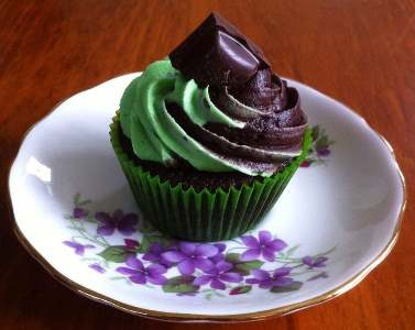 Photo of Chocolate Mint Cupcake