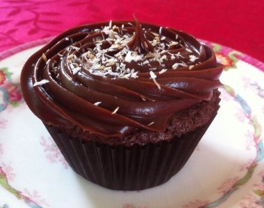 Photo of Coconut Brownie Cupcake