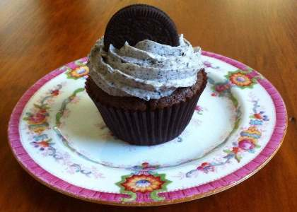 Photo of Cookies and Cream Cupcake