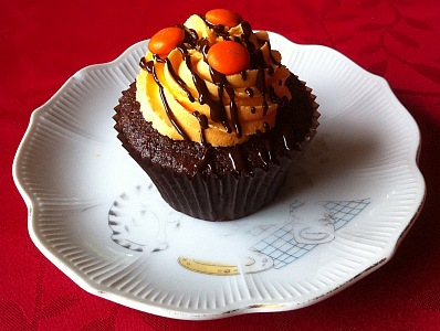Photo of Jaffa Cupcake