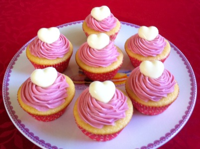 Photo of Raspberry White Chocolate Cupcake