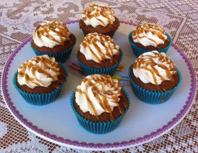 Photo of Sticky Toffee Cupcake